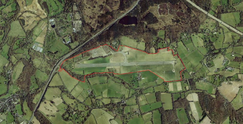 Garden village bid for Wisley Airfield