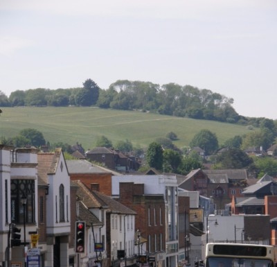 Guildford's open spaces offered protection