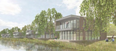 Floating homes proposed at Theale Lake