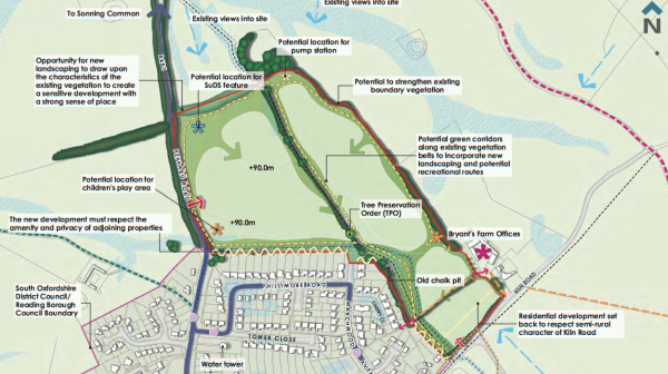 Gladman Developments submits plans for 245 homes at Emmer Green