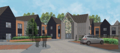 64-bed charity care home plan for Three Mile Cross
