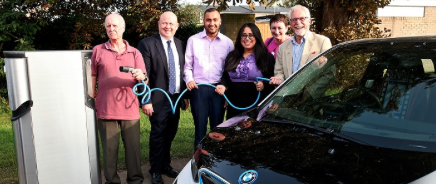 100 car charging stations for Oxford