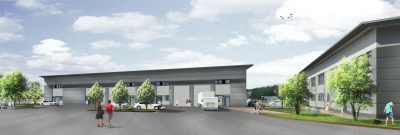 New plans for industrial at Grove Business Park