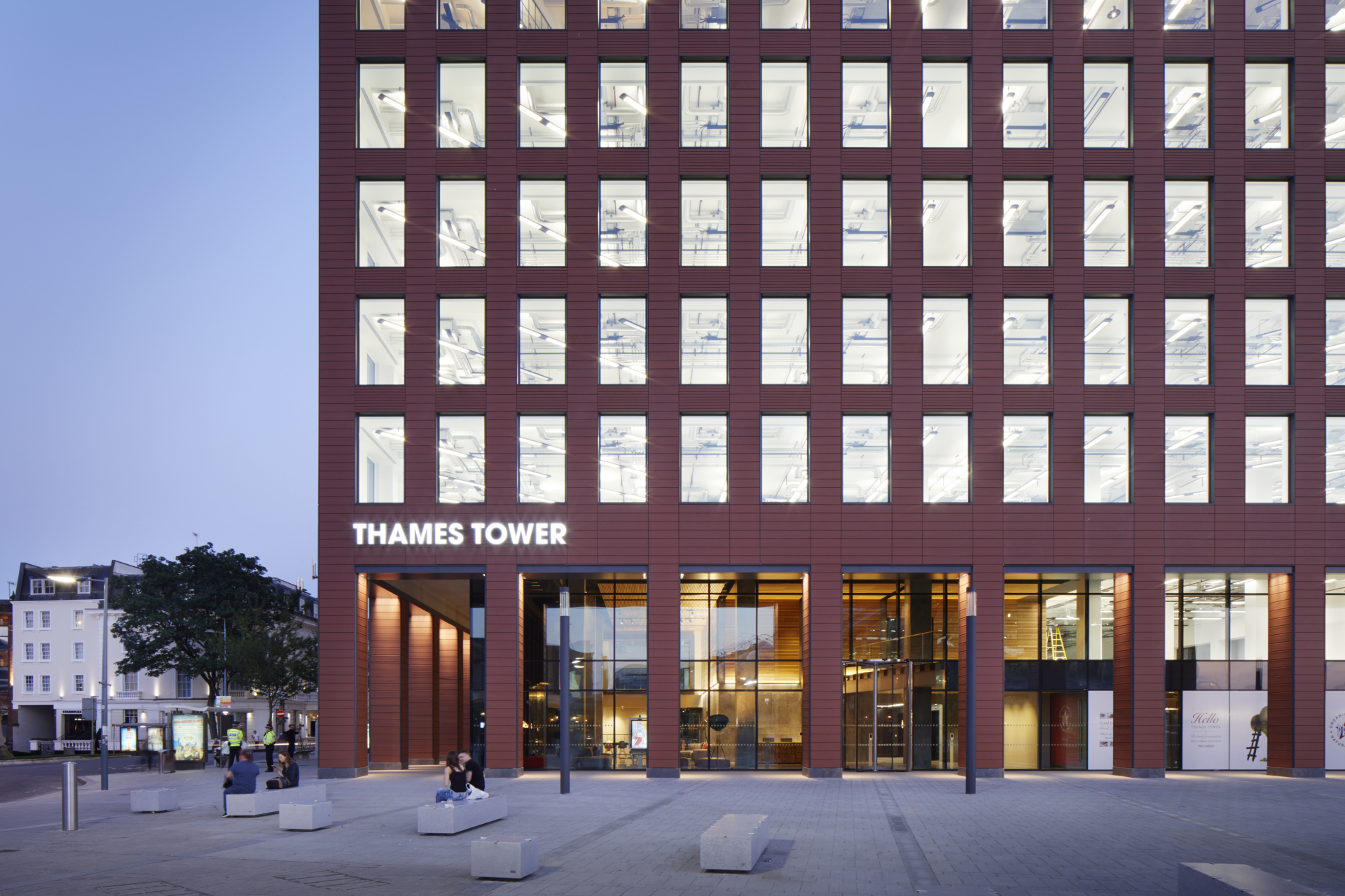 Fora takes three floors in Thames Tower