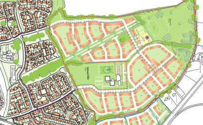 350 homes planned for Bramley site