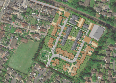 76-home plan for Sunninghill gasworks site