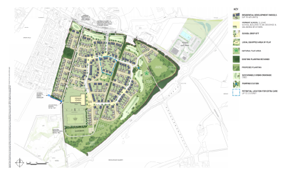 380 homes approved for Faringdon