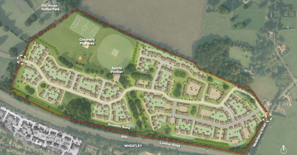 500 homes at Oxford Brookes recommended for approval