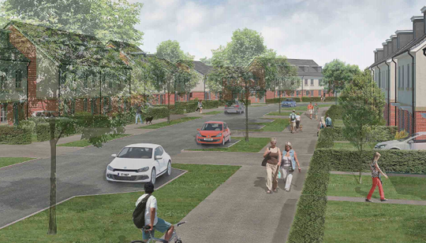 Plans for 300 homes approved for Swindon