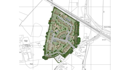 100 homes planned for Ash