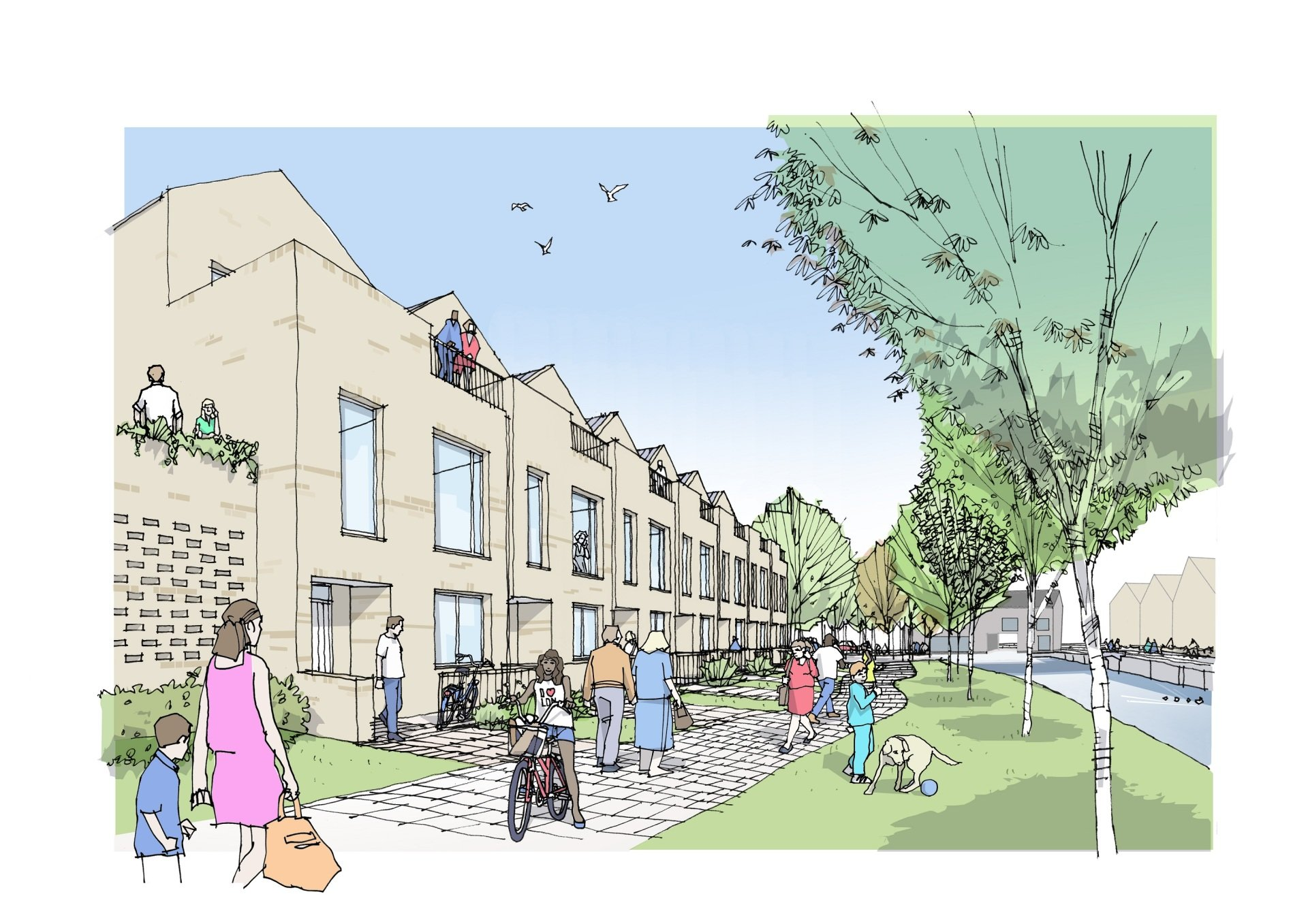 Joint ventures team up for 240-plus homes in Slough
