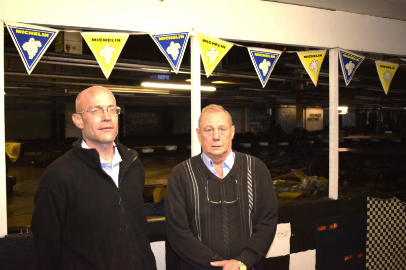 Karting venue bids a sad farewell to Woodley